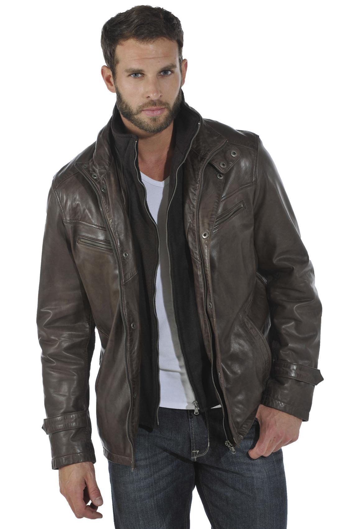 choisir sa veste en cuir homme les vestes la mode sont populaires partout dans le monde. Black Bedroom Furniture Sets. Home Design Ideas